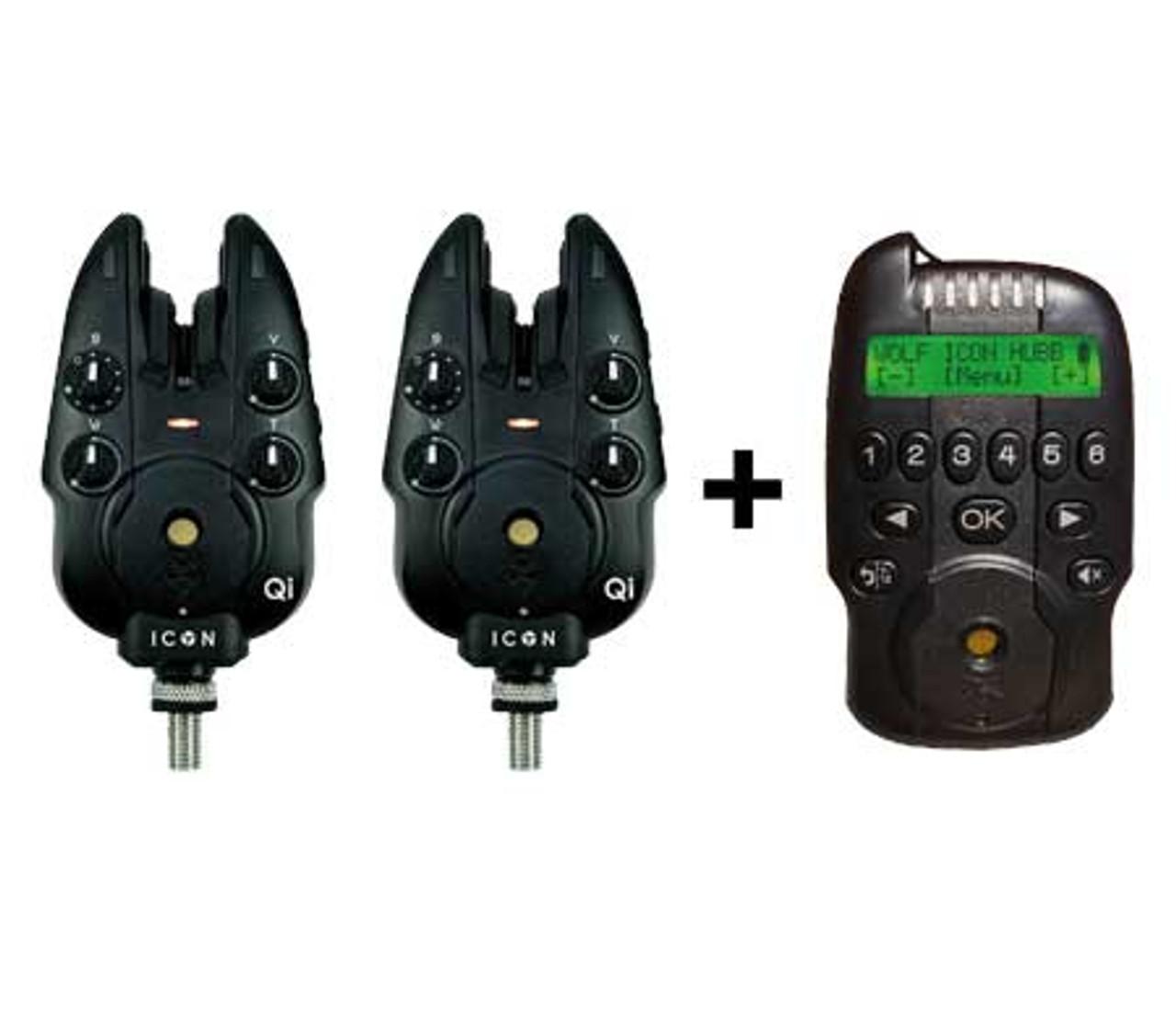 Wolf Icon QI 2 Rod Set + Hubb