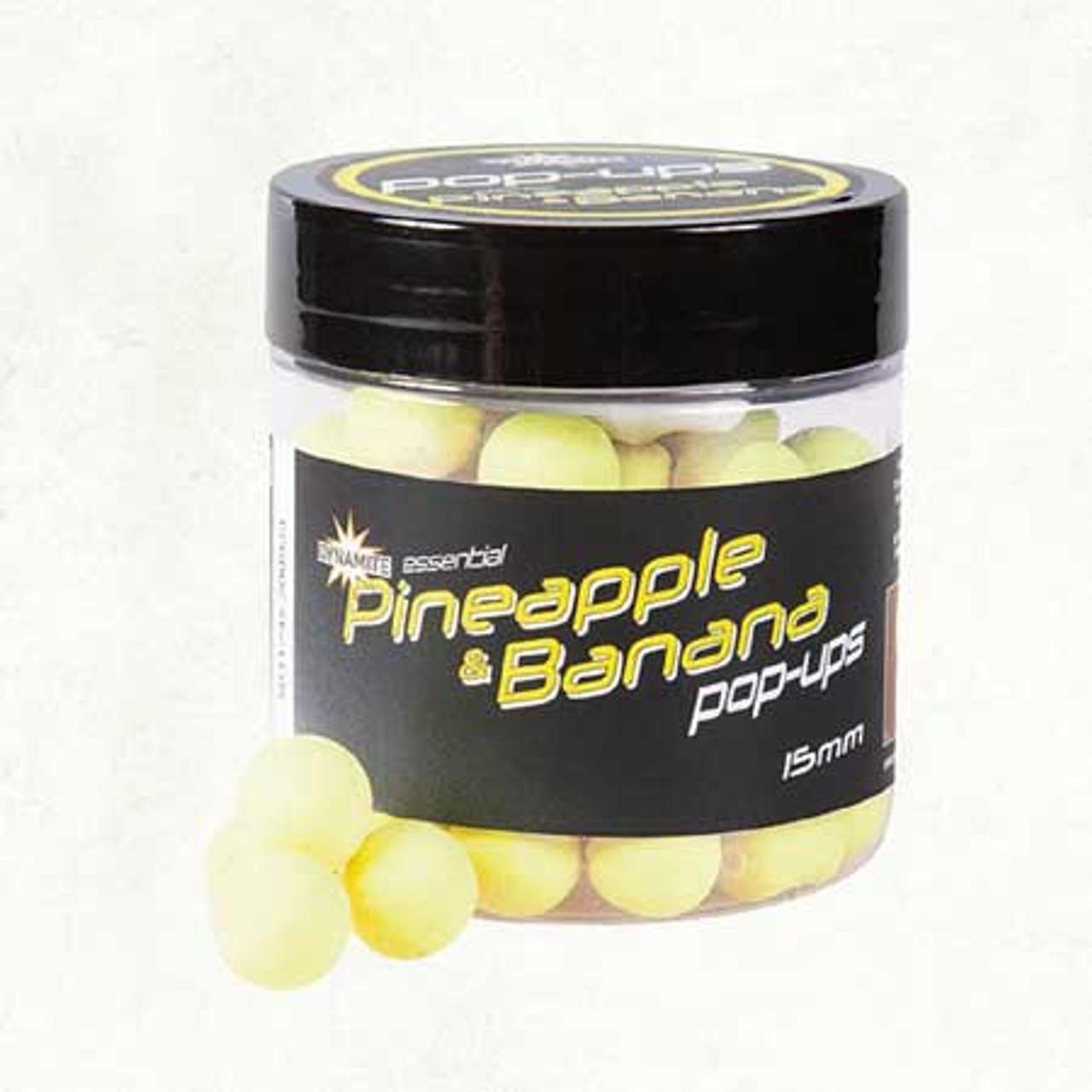 Dynamite Baits Essential Fluro Pineapple & Banana Fluro Pop-ups