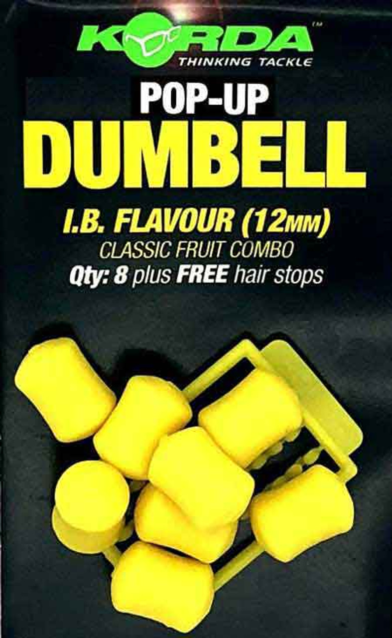 Korda Pop Up Yellow IB Dumbells