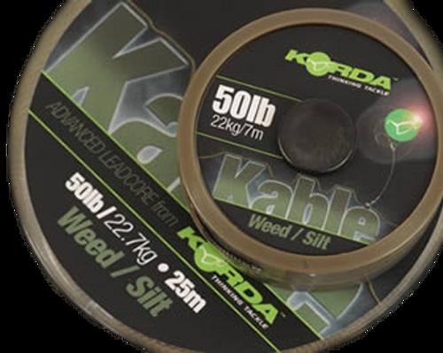 Korda Kable Leadcore 25m Spools