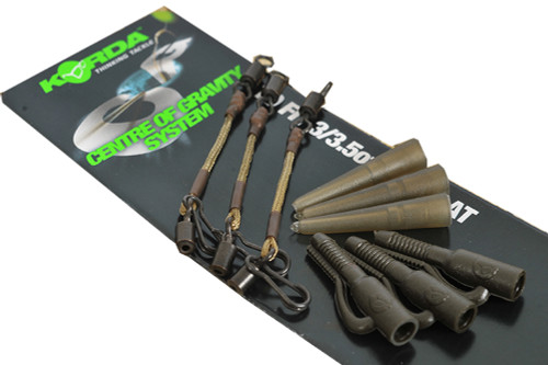 Flat Pear Leads Centre of Gravity Various Weights Korda COG