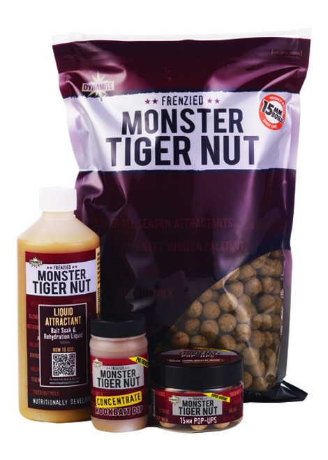 Dynamite Baits Frenzied Monster Tiger Nut Shelf Life Boilies 1Kg