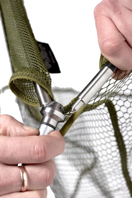 Trakker EQ Carbon Landing Net & Handle - Olive