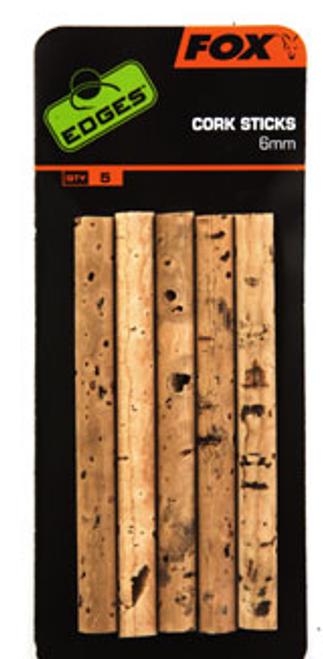 Fox EDGES™ 6mm Cork Sticks x5 pcs
