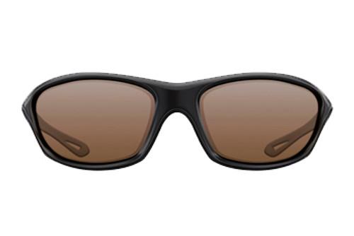 Korda Wraps Gloss Black Frame Brown Lens