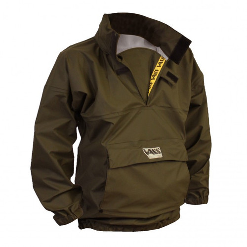 Team Vass 175 'Khaki Edition' Lightweight, Breathable Waterproofs Smock
