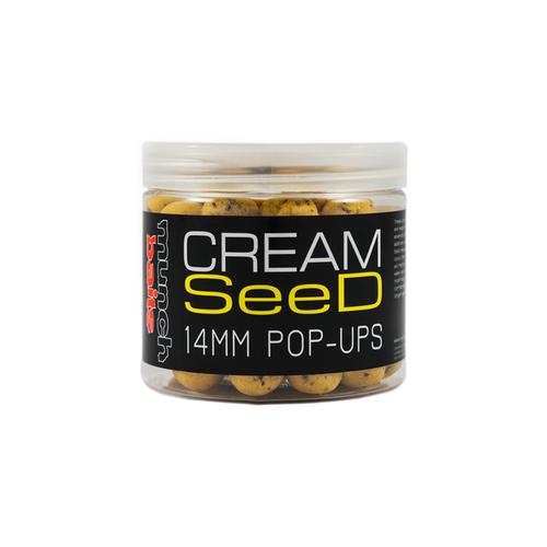 Munch Baits Cream Seed Pop-Ups