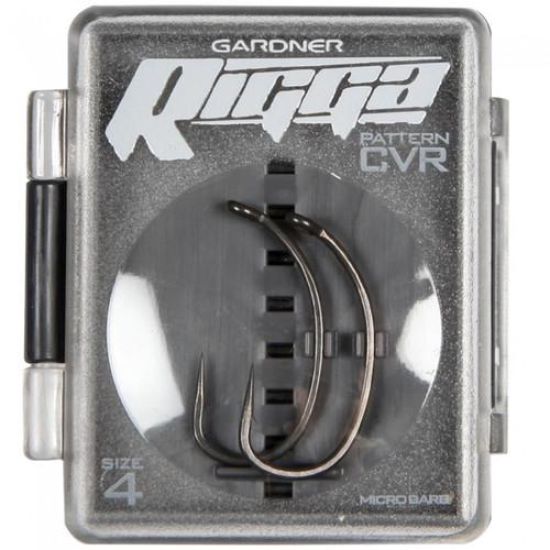 Gardner Curved Rigga Hooks Barbed (CVR