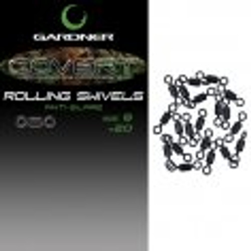 Gardner Covert Mini Rig Swivels Size 12