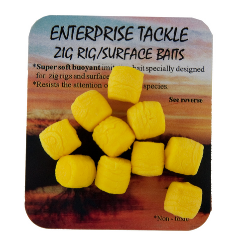 Enterprise Tackle Yellow Zig Rig/Surface Bait