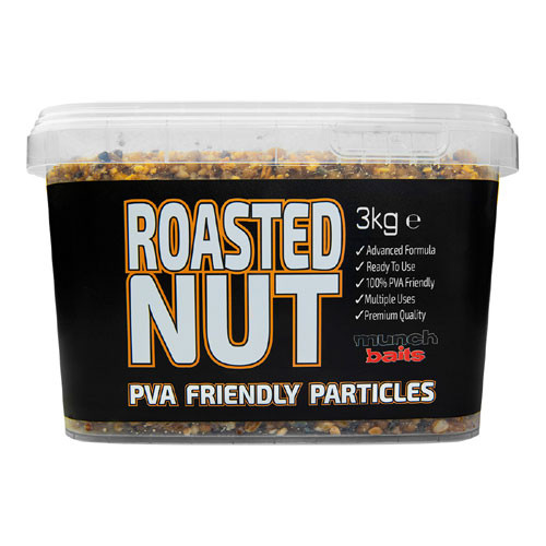 Munch Baits Roasted Nut Particles - PVA Friendly 3Kg Bucket
