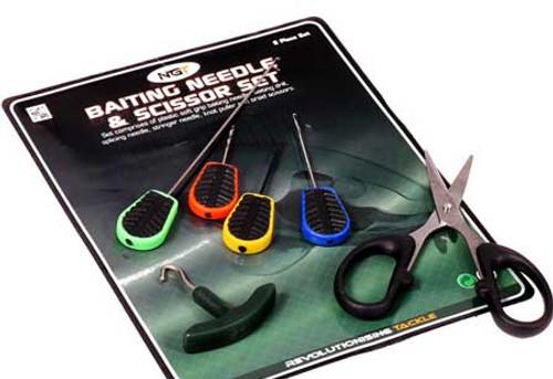 NGT 6 Piece Soft Grip Baiting Tool Set
