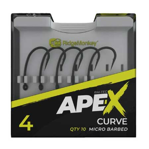 RidgeMonkey Ape-X Curve Hooks