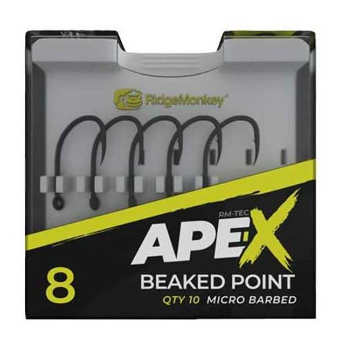 RidgeMonkey Ape-X Beaked Point Hooks