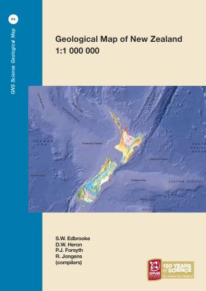 A Map Of New Zealand.Geological Map Of New Zealand 1 1 000 000 2 Print Maps