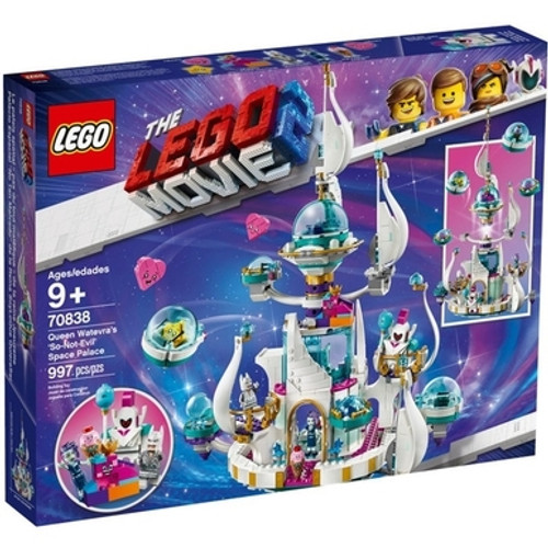 LEGO Movie 2 - Queen Watevra's So-not-evil Space Palace