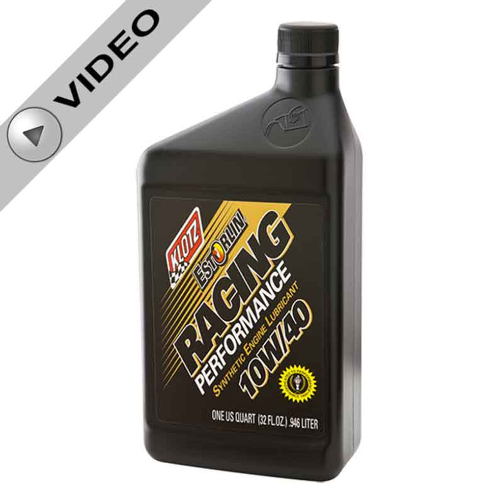Klotz 10W/40 Estorlin Racing Performance Synthetic Oil (KE-940) video