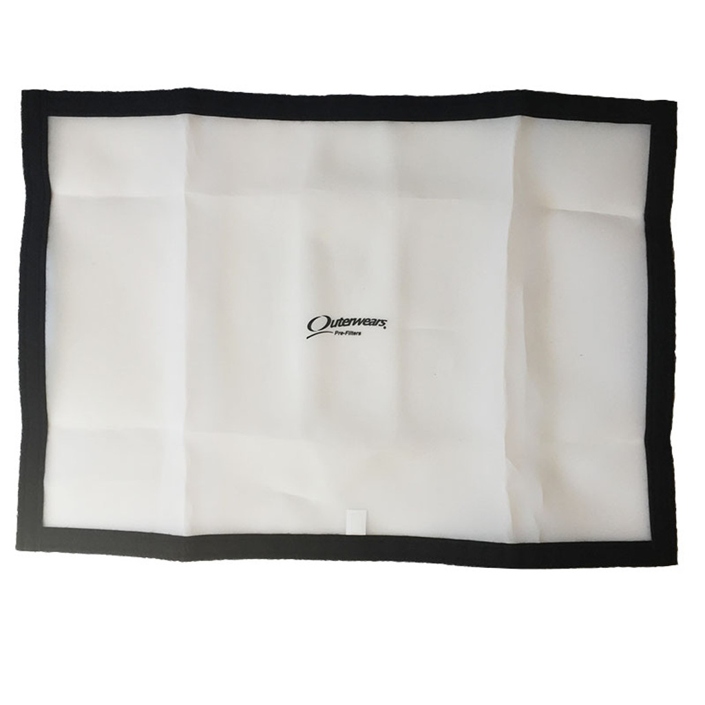 Outerwears Replacement Screen with Velcro Attachment for 19x27 Vinyl Frame (OUT-11-2327-12)