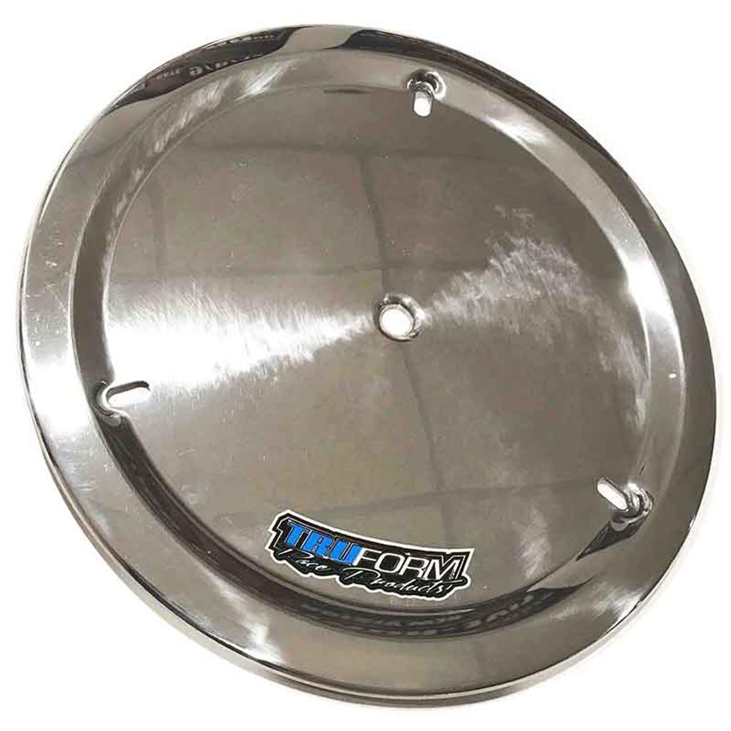 Truform Aluminum Wheel Cover - Polished Aluminum