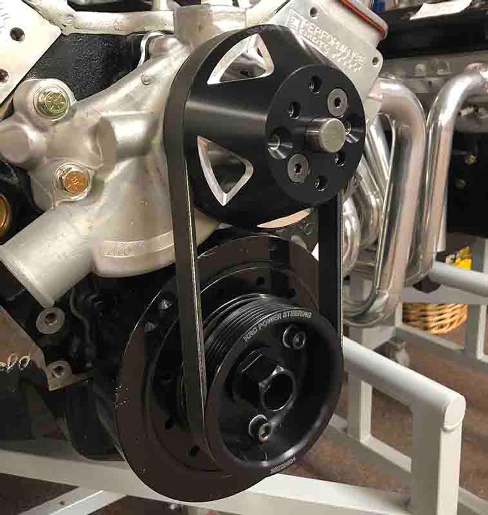 KRC 6-Rib Single Belt Water Pump Drive Kit