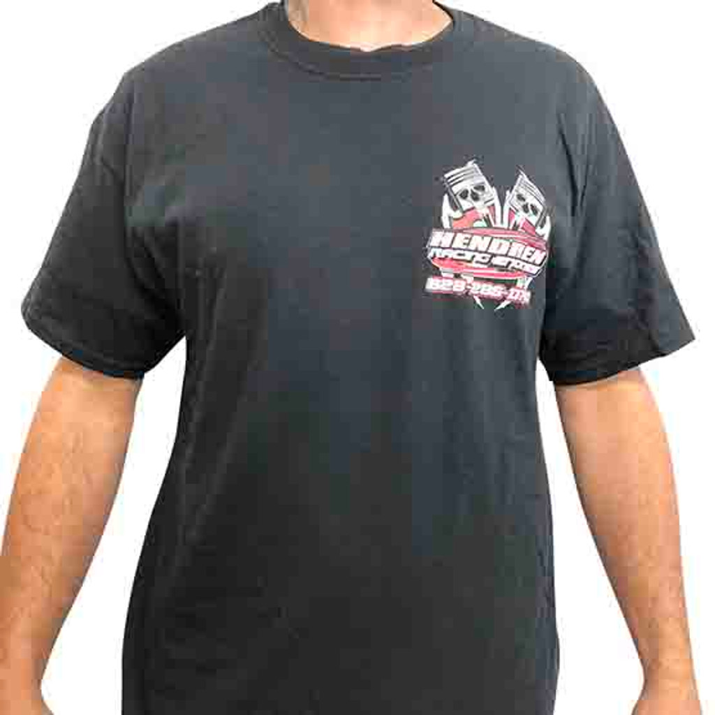 Hendren Racing Engines T-Shirt - Front