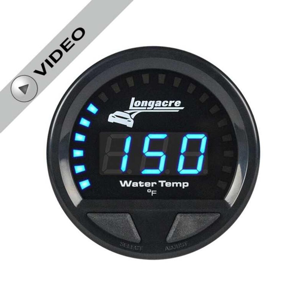 Longacre Waterproof Gauges, Water Temperature 100-280