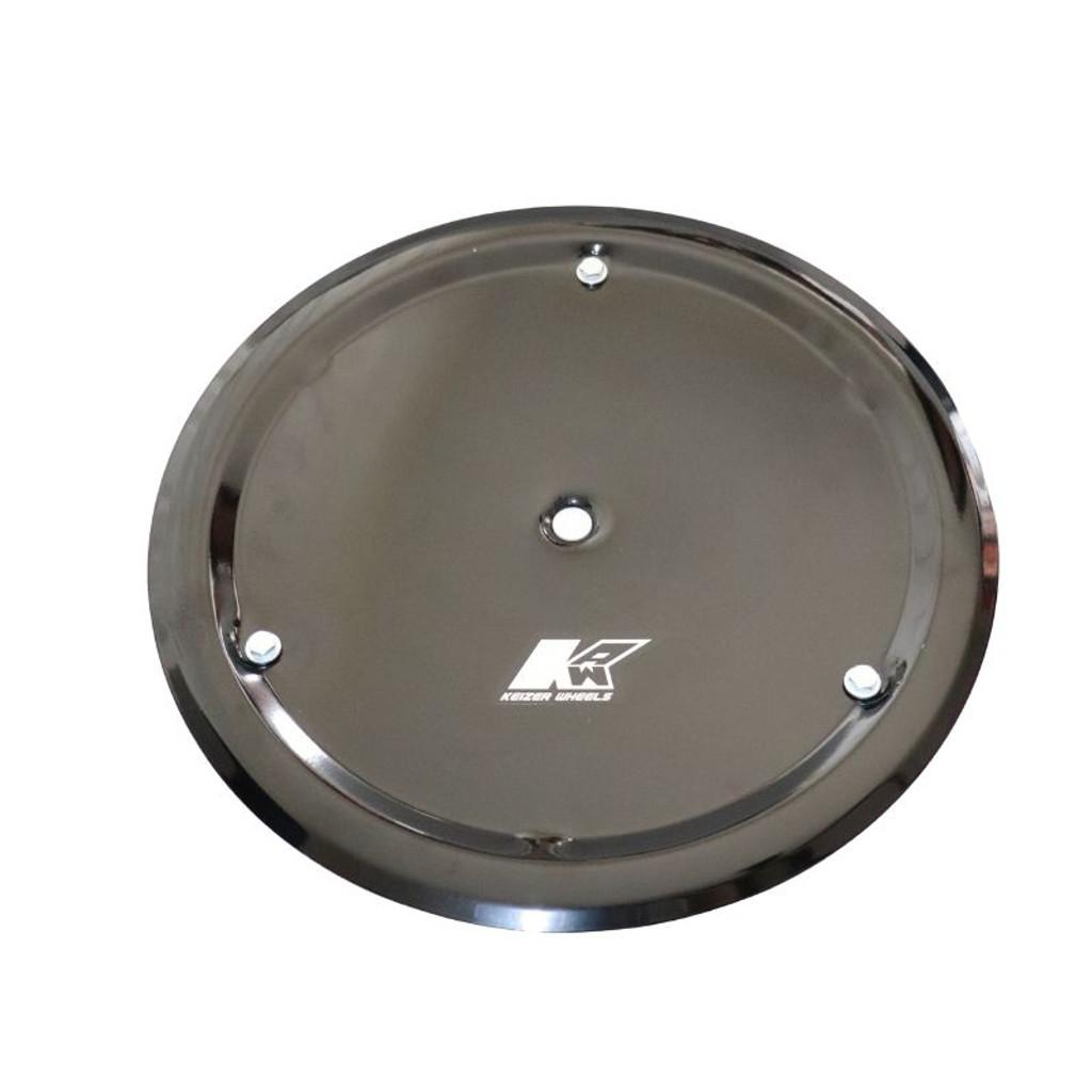 Keizer Mud Cover-Black Anodized Aluminum-Bolt On (KZ-M15MCBOB)