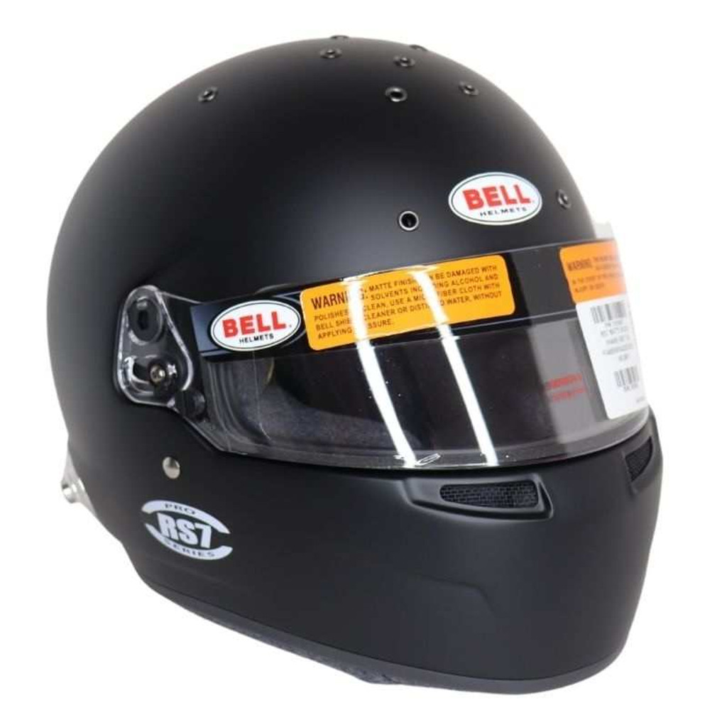 Bell Helmet RS7- Matte Black Size 58 SA2020/FIA8859