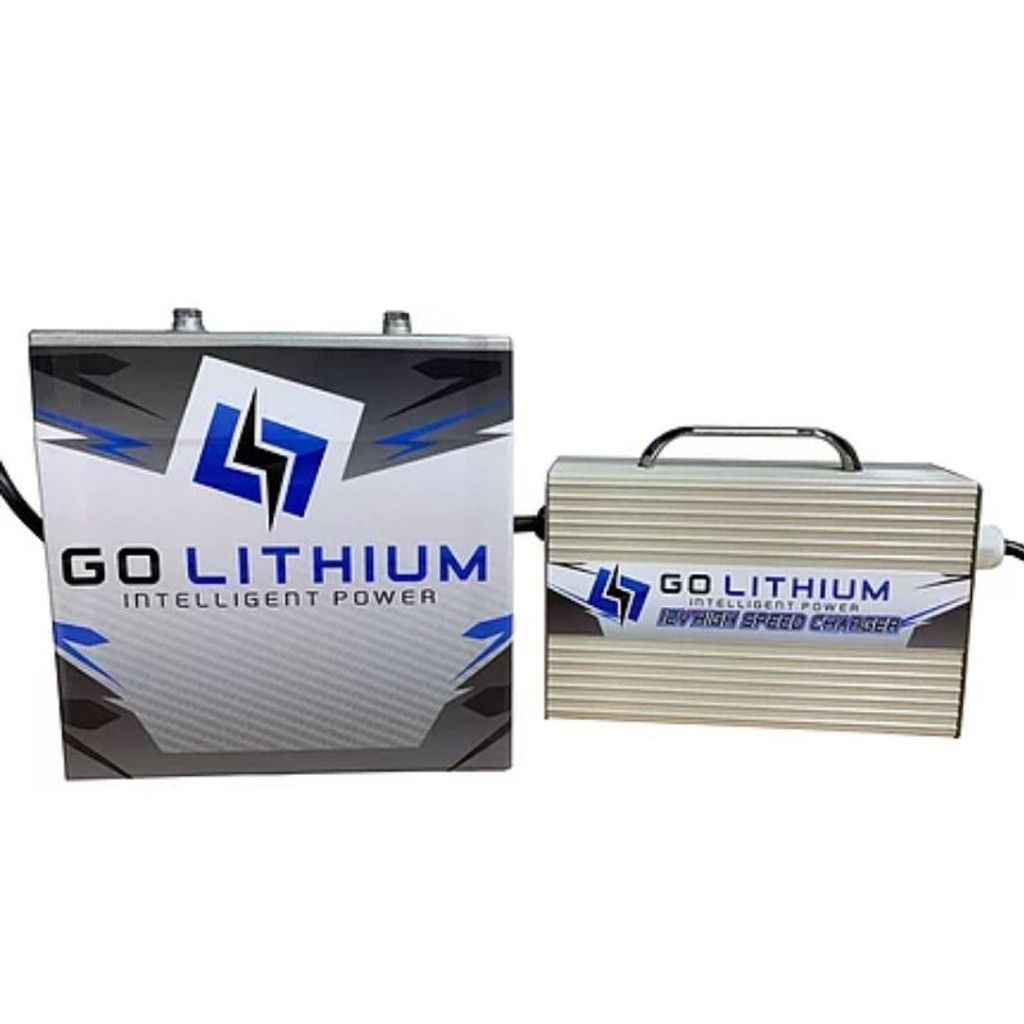 Go Lithium 12v Battery and Charger Package (GOLPKG3)