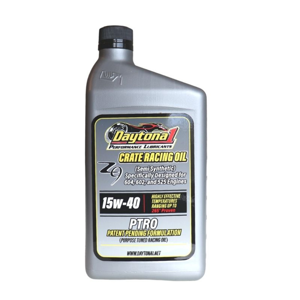Daytona 1 PTRO 15W-40 Semi-Synthetic Crate Racing Oil