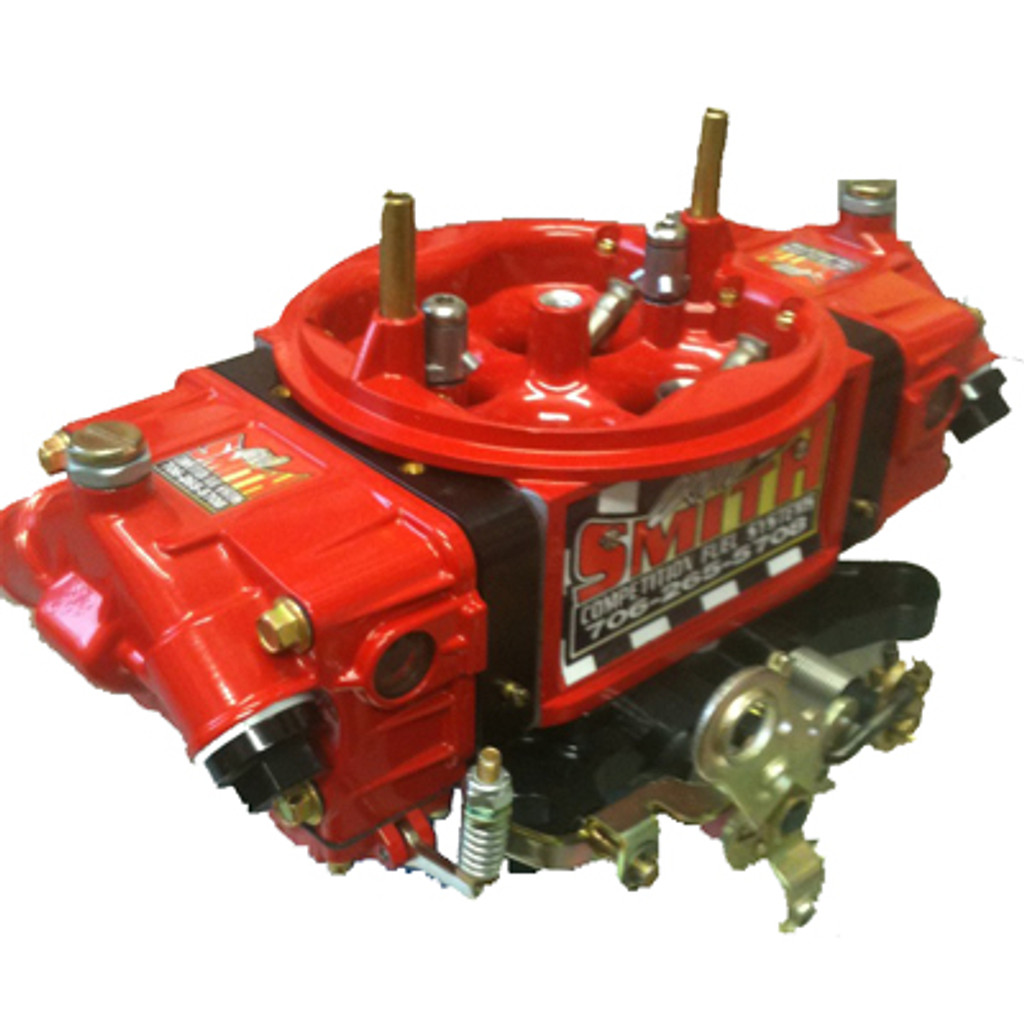David Smith Carburetor in Red