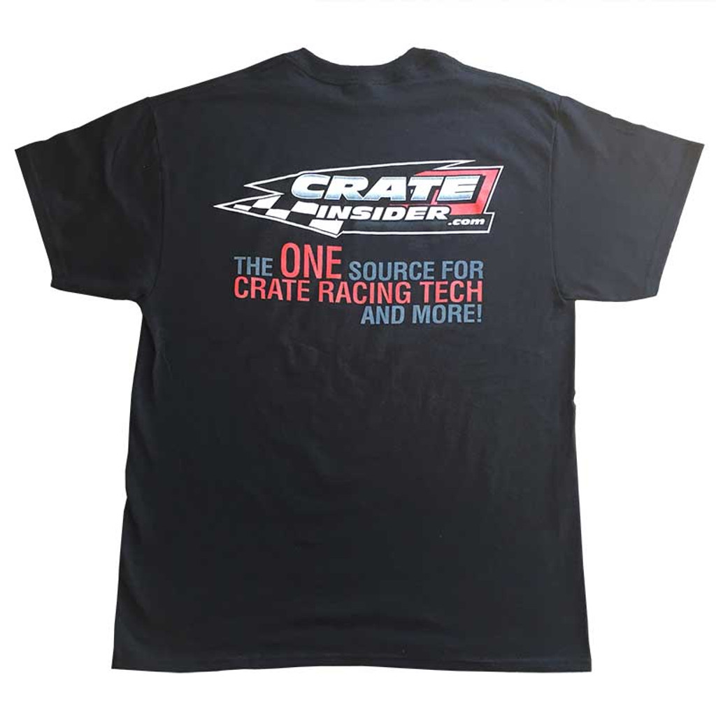 Crate Insider T-Shirt -Back