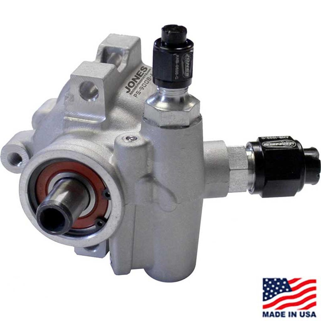 Lightweight Aluminum Power Steering Pump by Jones Racing Products (JRP-PS-9008-AL)