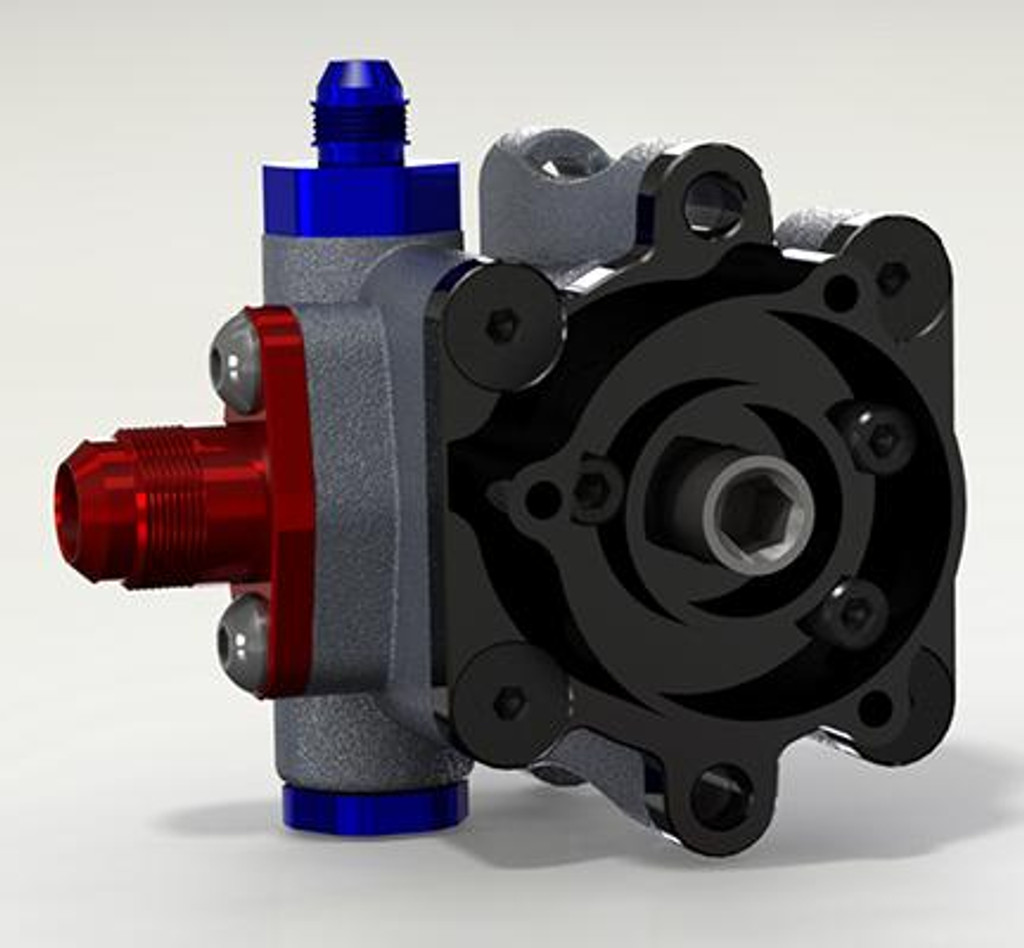 Back Side of KRC Pro Series III Pump