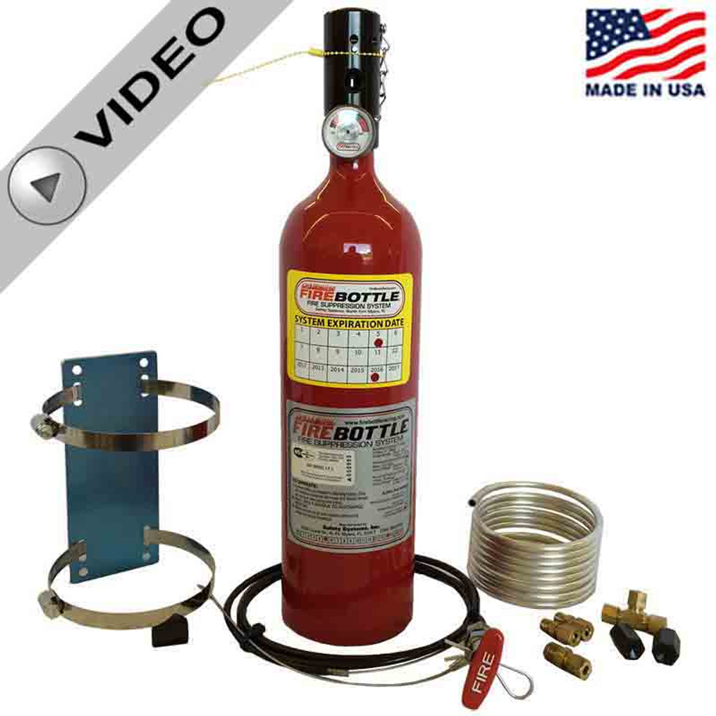 Fire Bottle RC-500 Fire Suppression - Manual 5# System (RC-500)