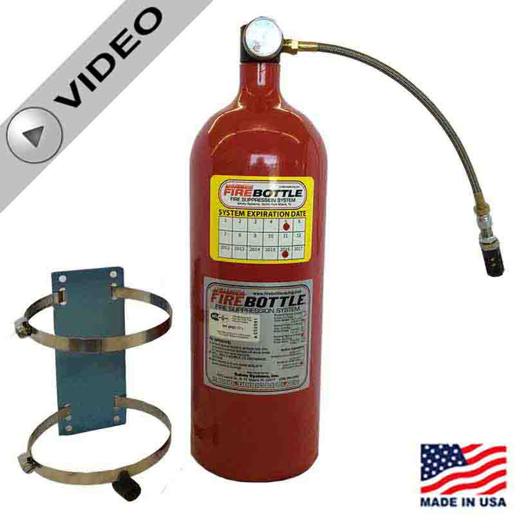 Fire Bottle FC-1000 Automatic Fire Suppression System - 10# (FC-1000)