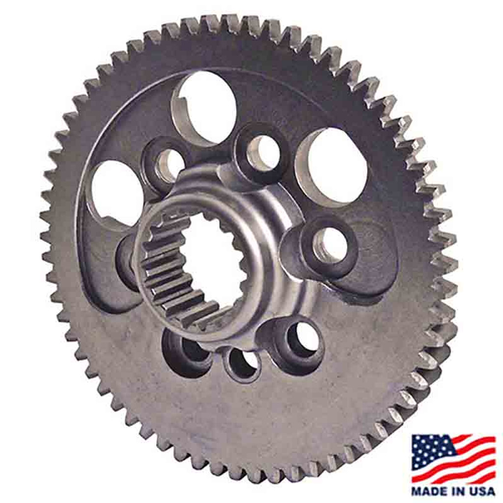 Winters/Maverick 18-Spline Flywheel, Externally Balanced, SBC (63844-18)