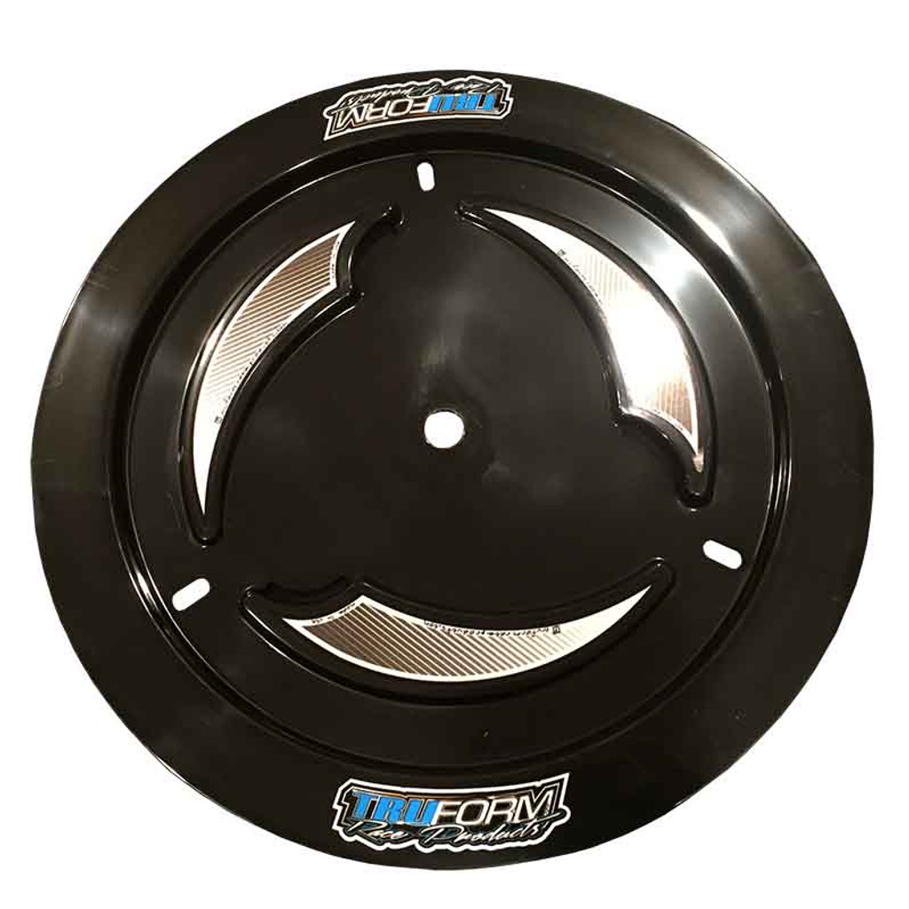 TruForm Black Nonvented Wheel Cover