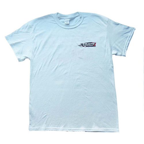Crate Insider White T-Shirt - Front
