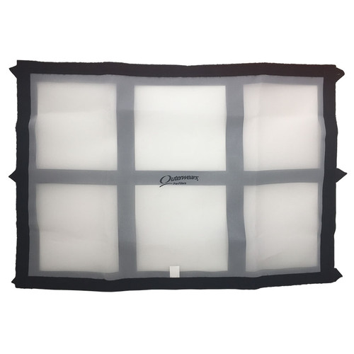 Outerwears Radiator Screen with Frame - 19x27 (OUT-11-2326-12)