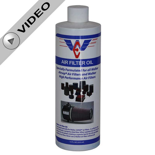 Walker Performance Air Filter Oil - 12 oz (WP-OIL12)
