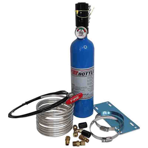 Fire Bottle Sprint Car Manual Fire Suppression System #RC-250