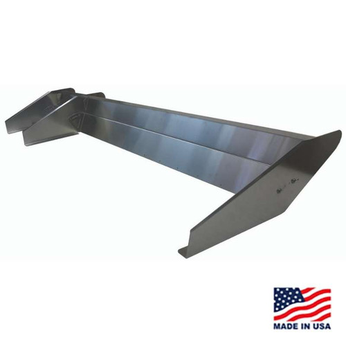 "EZ Adjustable Dirt Late Model Spoiler - 12"" Spoiler Kit"