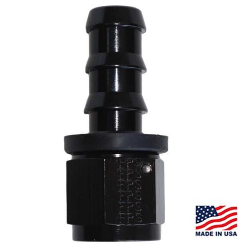 Fragola - FRG-200110-BL  - Hose Fitting #10 STR Push Lock Black