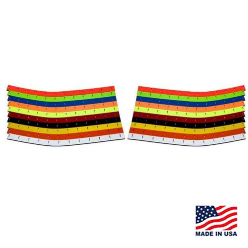 88 Monte Carlo Valance Wear Strips - Sold as a pair - #AR-402170x (AR-402170x)