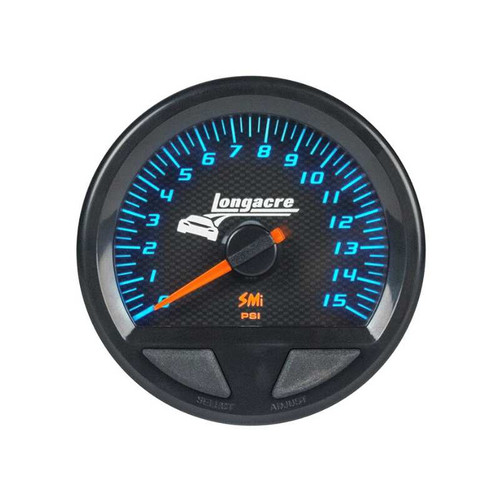 Longacre Waterproof Gauges, Water Temperature/Oil Temperature 100-280