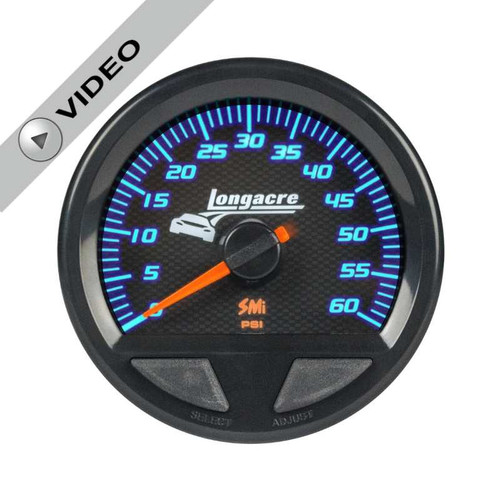 Longacre Waterproof Gauges, Water Pressure 0-60 psi