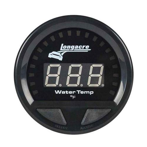 Longacre Digital Elite Waterproof Gauges, Water Temperature 100-280