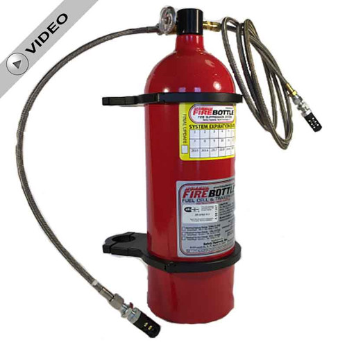Fire Bottle FC-1002 Fire Suppression System - 10#