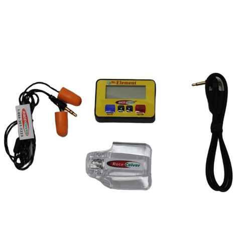 RACEceiver Element Semi-Pro Package with USB Charge Cord and Holster RCV-EL16R/SPK (RCV-EL16R/SPK)